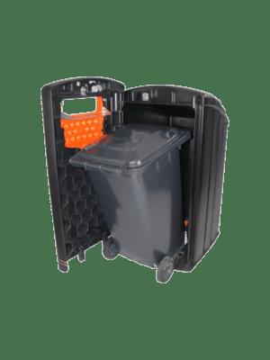 cache container plastique Biscayne tri sélectif