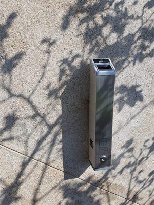 cendrier urbain smoking solution Portsea