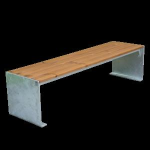 meridienne riga urbaine bois acier