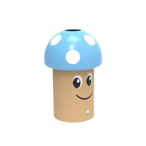 poubelle mini champy école polyéthylène