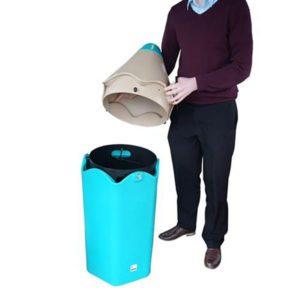 poubelle école polyéthylène easy school