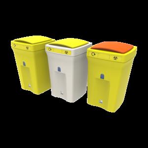 poubelle médicale anti bactérien anti-virus lift hygiénique