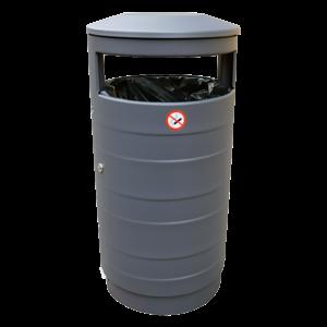 poubelle Australia relief acier