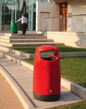 poubelle urbaine plastique polyéthylène brisbane