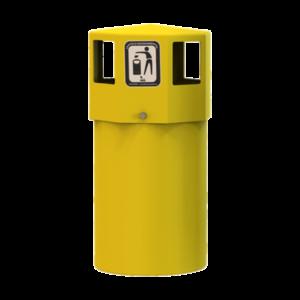 poubelle octogo urbaine plastique polyéthylène