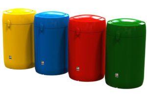 poubelle Wynwood flip urbaine plastique polyéthylène
