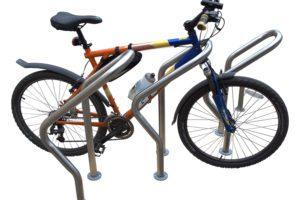 support vélo acier australia
