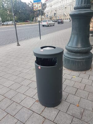 poubelle urbaine australia slide